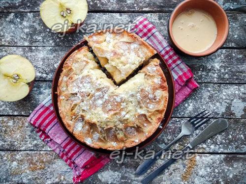 самый вкусный и простой яблочный пирог