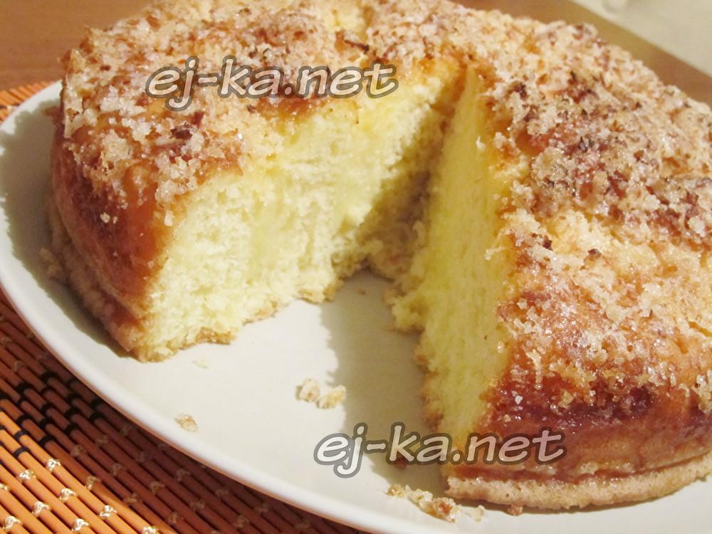 сладкий пирог к чаю