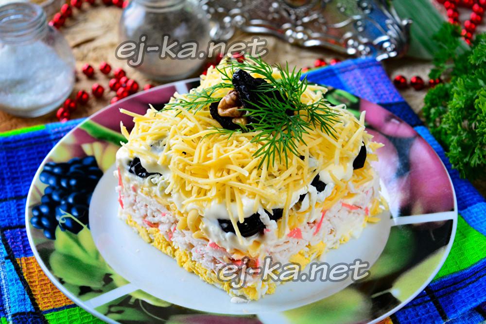 салат черная жемчужина