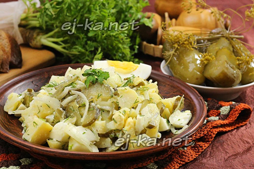 салат деревенский