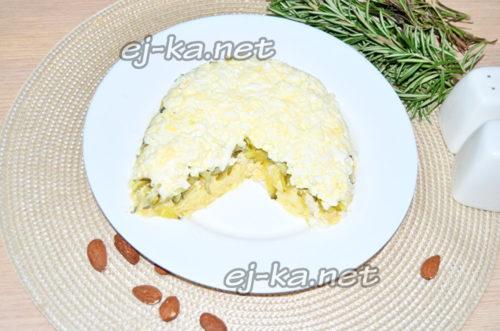слой яиц