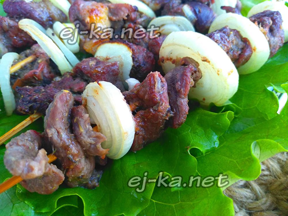 маринад для шашлыка из баранины