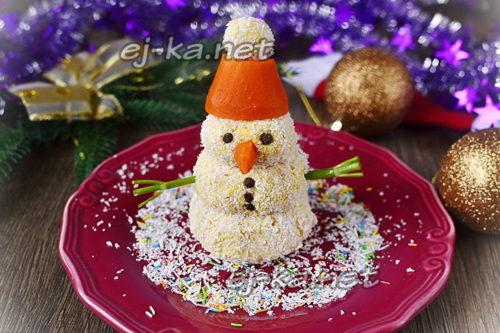 снеговик закуска