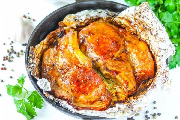Баранина, запечённая с картофелем в фольге в духовке