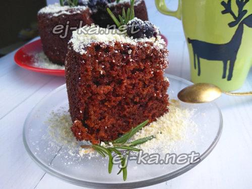вкусный быстрый шоколадный торт