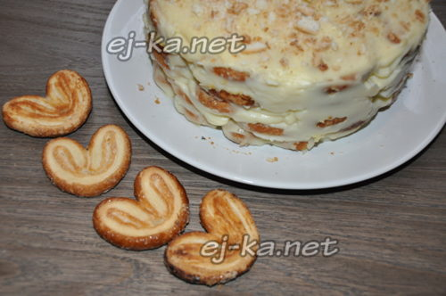 торт Наполеон готов