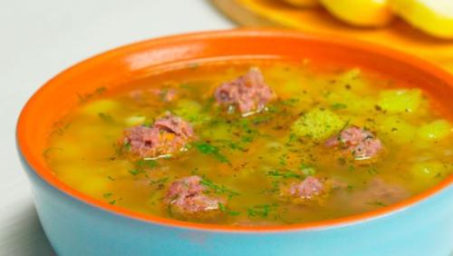 Суп с фрикадельками и рисом – пошаговый рецепт с фото