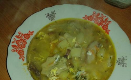 Суп с галушками по-казацки