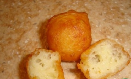Хрустящие сырные шарики