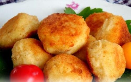 Сырно - картофельные шарики