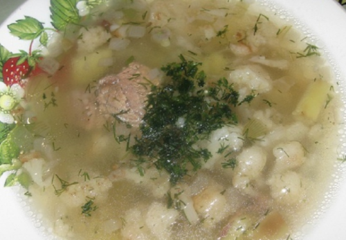 Суп с говядиной «Детский»
