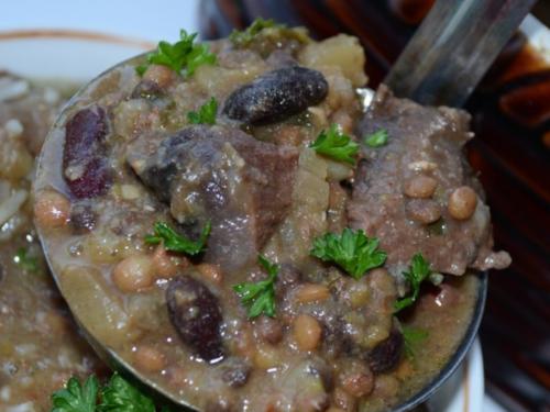 «Хамин» суп из глиняного горшочка