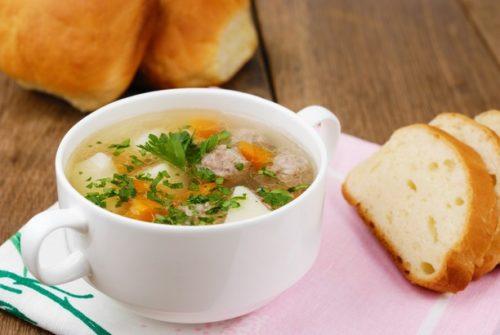 Рецепт супа с фрикадельками и вермишелью
