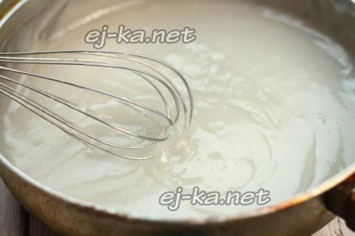 поставить на плиту