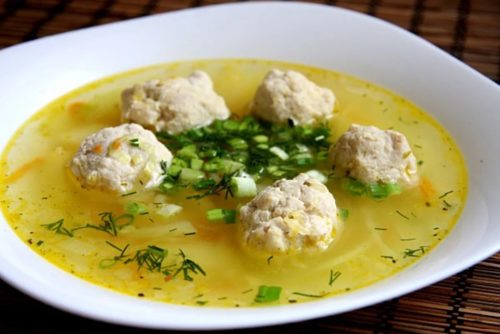 Пошаговые рецепты легкого супа с фрикадельками – быстро и просто