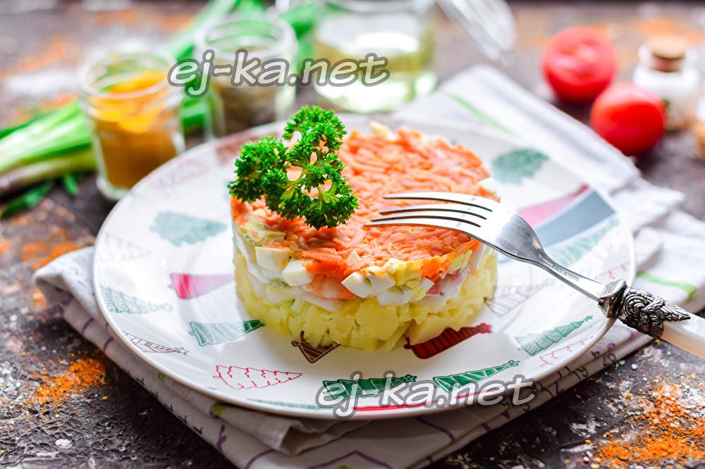 "салат ""Королевская шуба"""