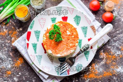 """салат """"Королевская шуба"""" готов"""