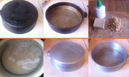 Моющие средства против жира