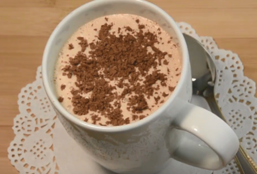 Кофейный молочный