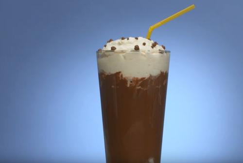 Коктейль с горьким шоколадом