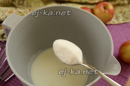 добавить сахар в кефир