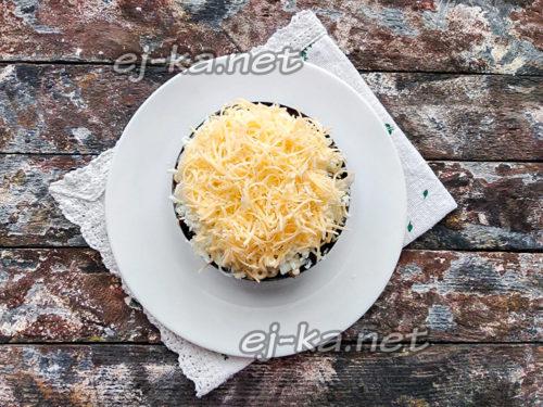 сверху сыр