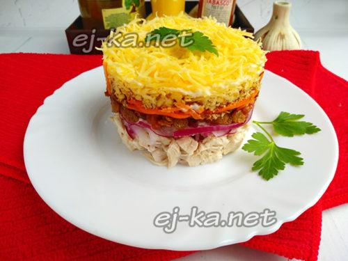 """салат """"Французская любовница"""""""
