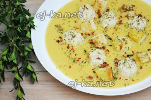 нежный гороховый суп пюре
