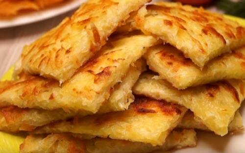 Картофельные блинчики за пять минут