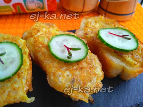 бутерброды с луком и яйцом