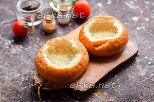 подготовить булочки