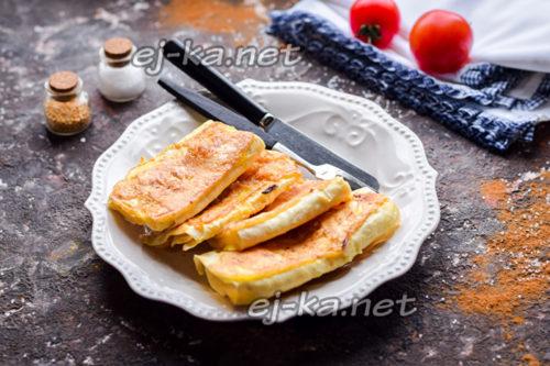 лаваш с сыром готов