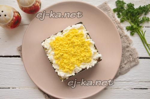слой желтка