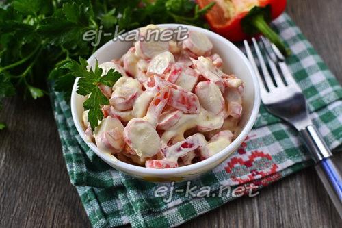"""салат """"Красное море"""" готов"""
