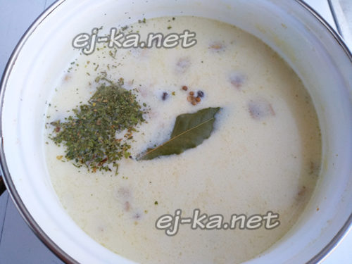 добавить в суп специи