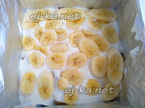 слой бананов