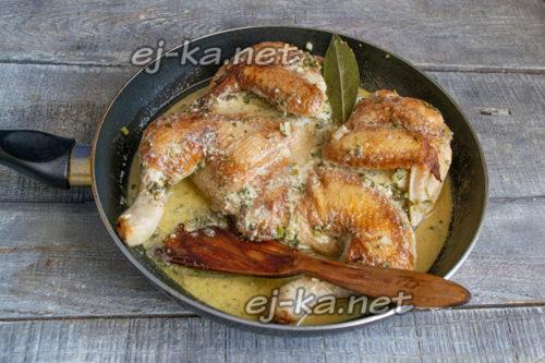 цыпленок чмеркули готов