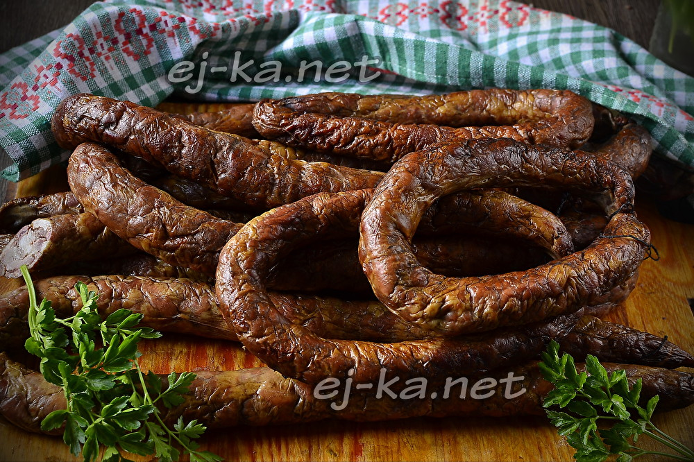 копчёная колбаса