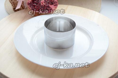 подготовить салатное кольцо