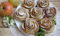 """десерт """"Английская роза"""""""