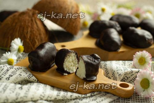 конфеты баунти готовы