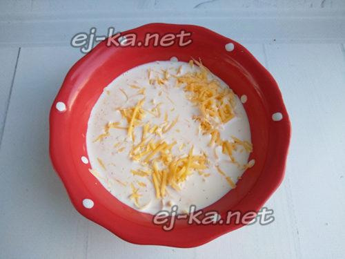 смешать сливки с сыром