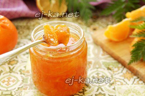 мандариновое варенье готово