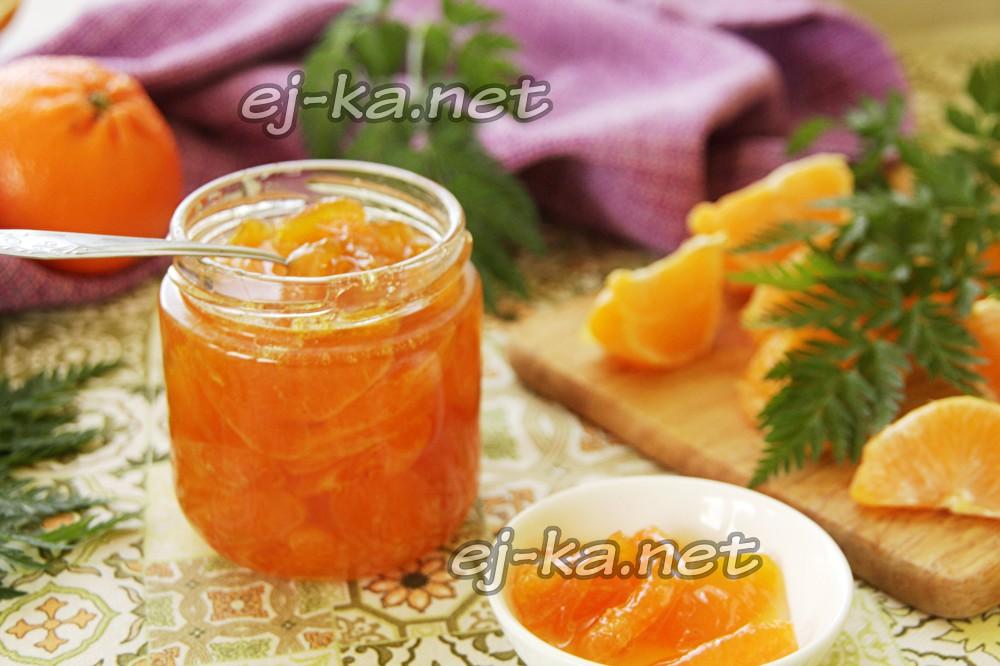 мандариновое варенье