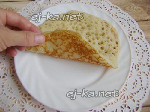марокканский блин готов