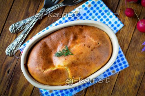 испечь пирог в духовке