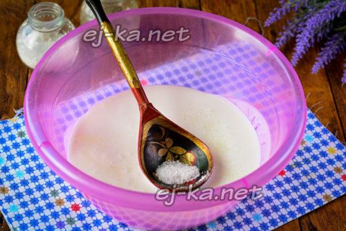 в кефир добавить соль