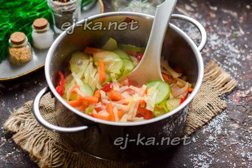 проварить салат