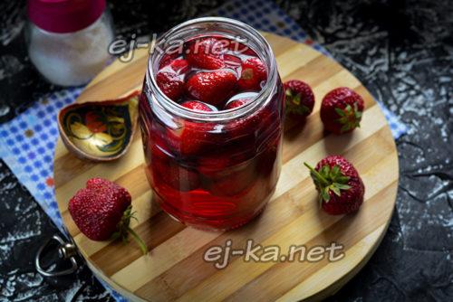 залить ягоды повторно