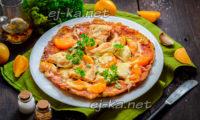 ленивая пицца из кабачков